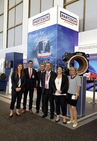 InnoTrans Berlin 2018 - PARTZSCH exhibition team